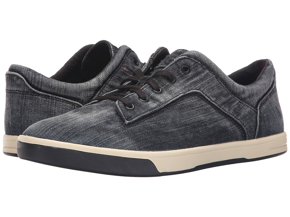 UGG - Bueller Washed Denim (Black Denim) Men's Lace up casual Shoes