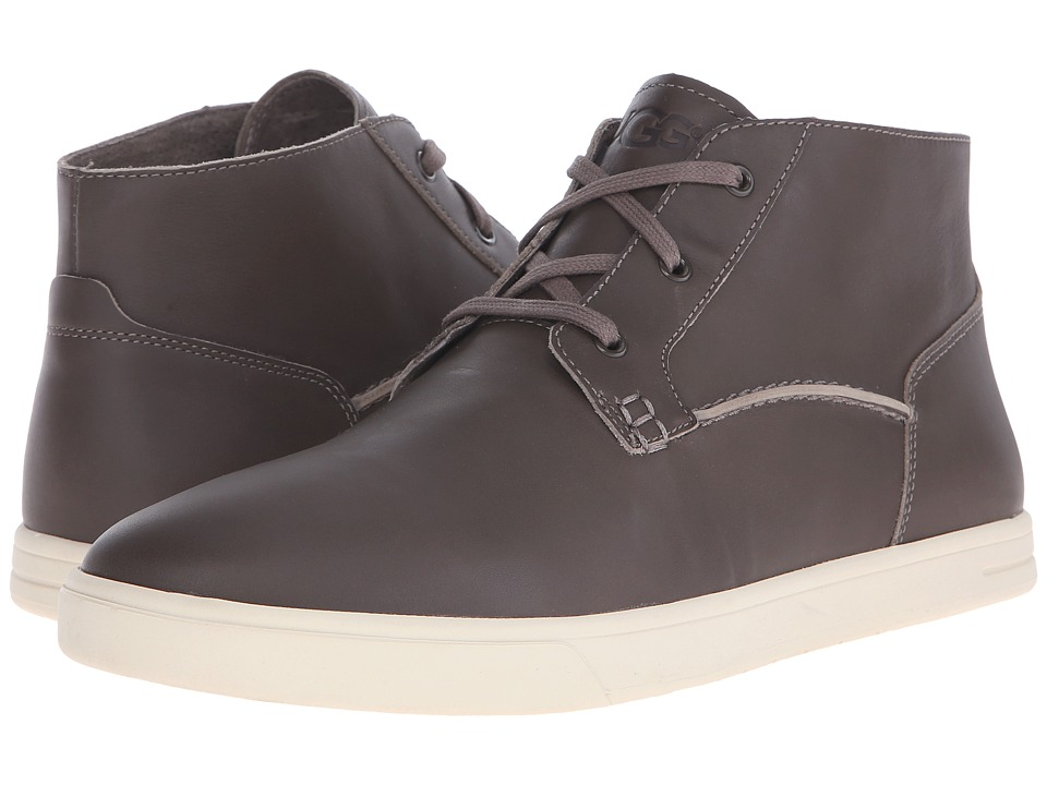 UGG - Kramer (Charcoal Leather) Men's Lace up casual Shoes