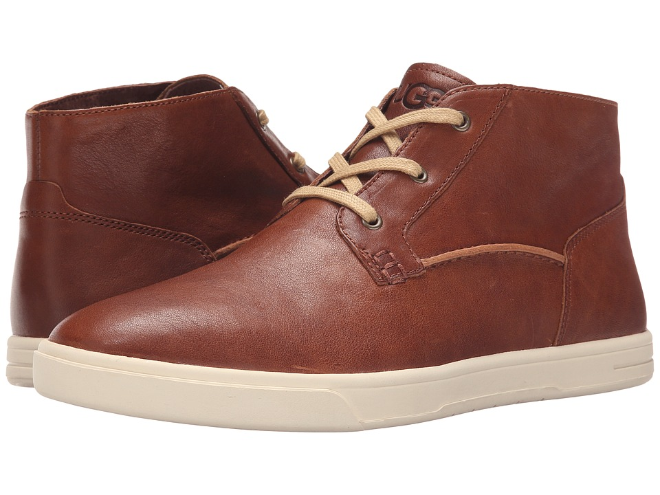 UGG - Kramer (Chestnut Leather) Men's Lace up casual Shoes