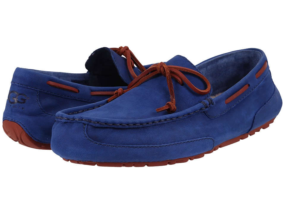 UGG - Chester Capra (Racing Stripe Blue Leather) Men