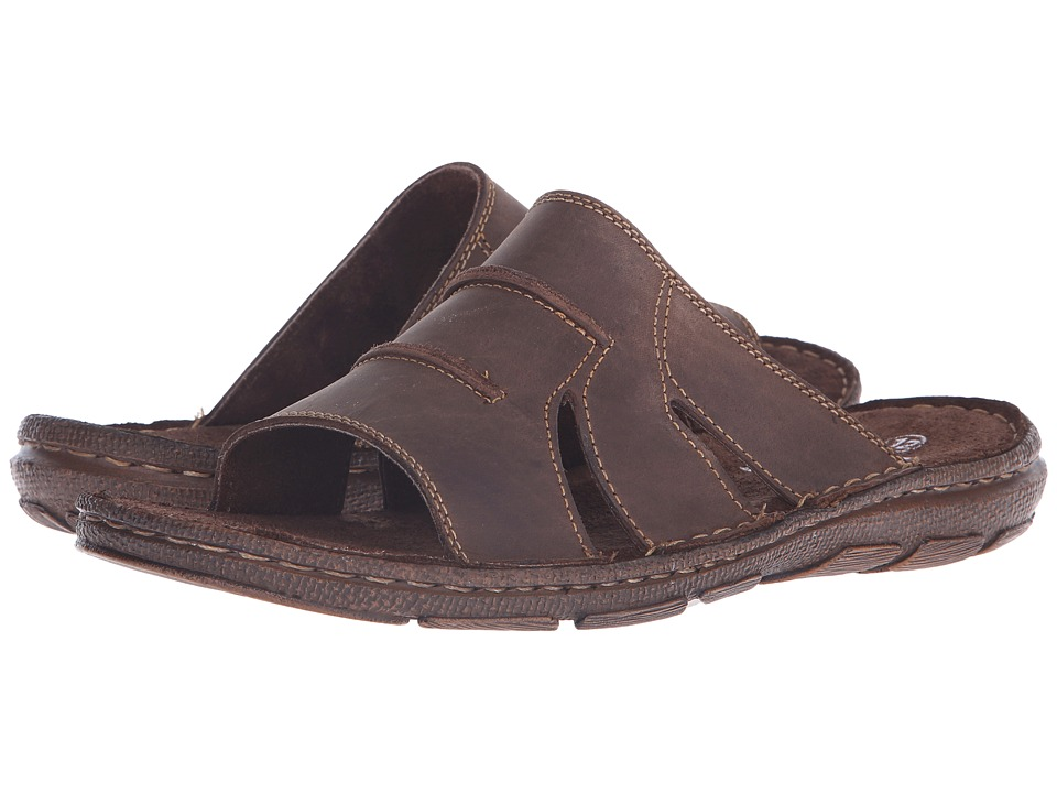 Lotus - Campbell (Brown Leather) Men's Sandals