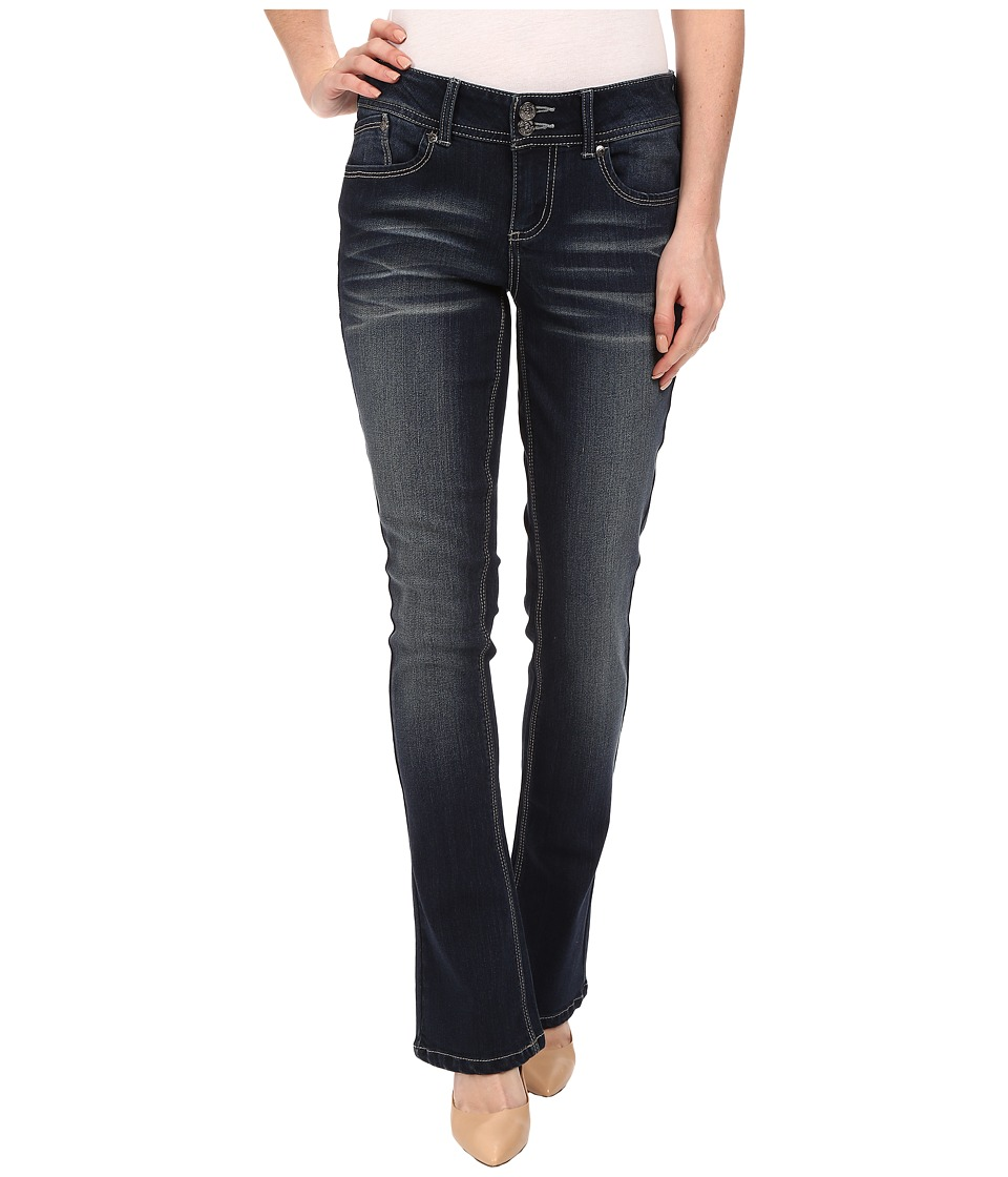 Seven7 Jeans - Rocker Slim Jeans in Scandal Blue (Scandal Blue) Women's Jeans