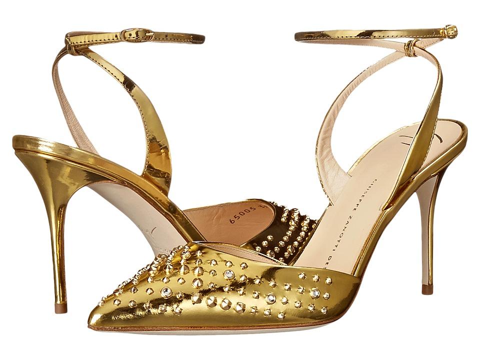 Giuseppe Zanotti - E65005 (Shooting Oro) Women's Shoes