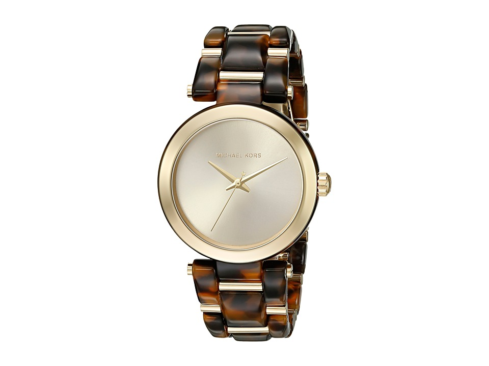 Michael Kors - Delray (MK4314 Gold/Tortoise) Watches