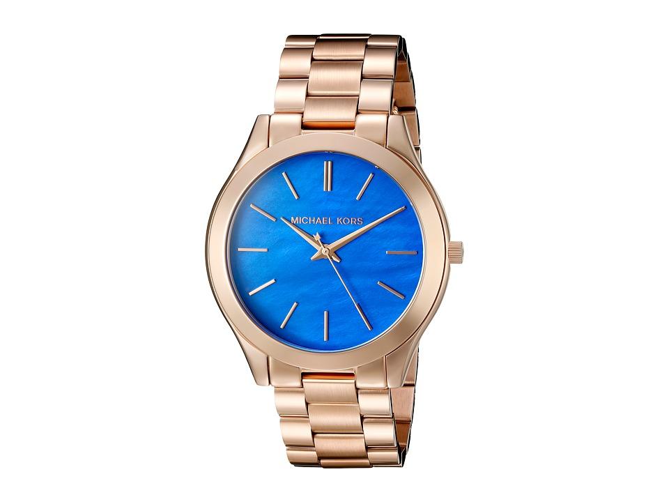 Michael Kors - Slim Runway (MK3494 - Rose Gold) Analog Watches
