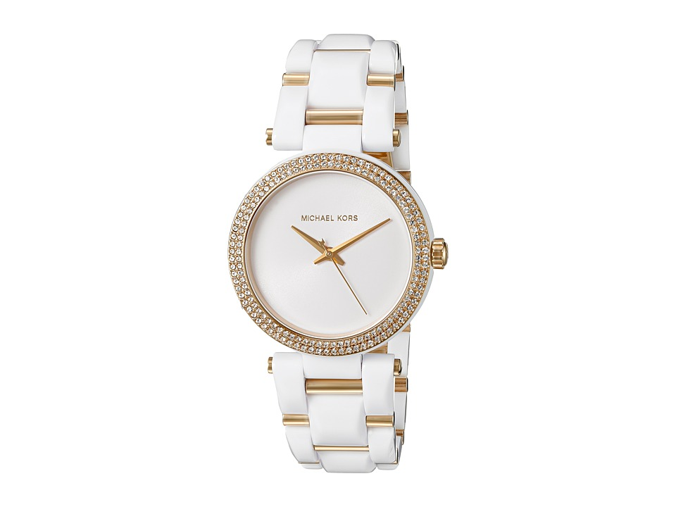 Michael Kors - Delray (MK4315 - Gold/White) Watches