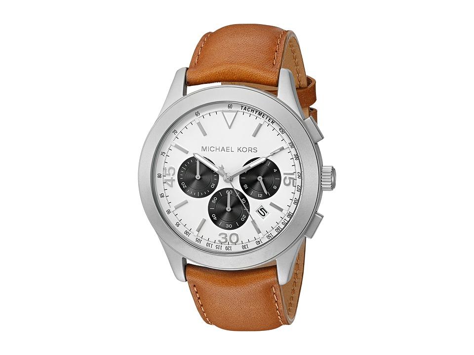 Michael Kors - Gareth (MK8471 - Gunmetal/Dark Brown) Watches