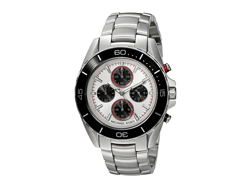 Michael Kors - Jet Master (MK8476 - Black/Silver) Watches