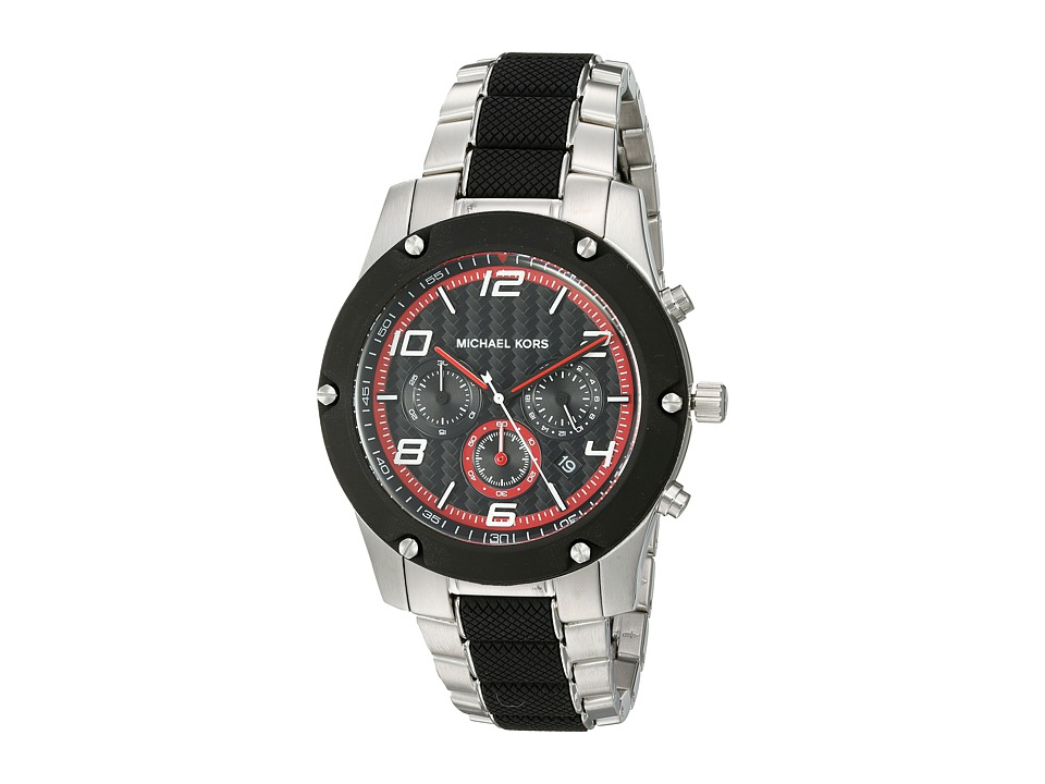 Michael Kors - Caine (MK8474 - Black/Silver) Watches