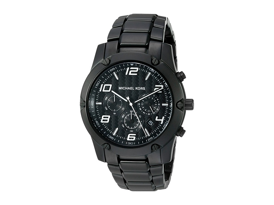 Michael Kors - Caine (MK8473 - Black) Watches