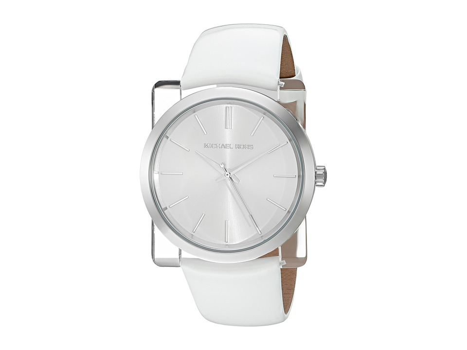 Michael Kors - Kempton (MK2482 - Silver/White) Watches