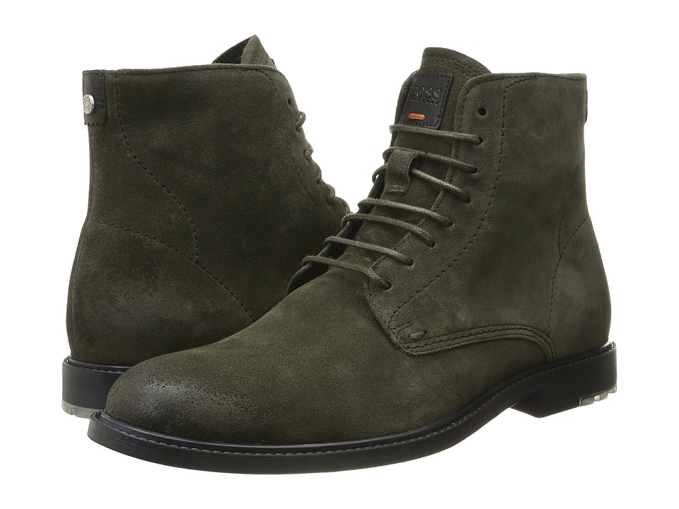 BOSS Hugo Boss - Cultroot Halb by BOSS Orange (Dark Green) Men's Shoes