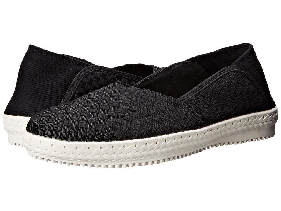 bernie mev. Beth (Black) Women's Slip on Shoes