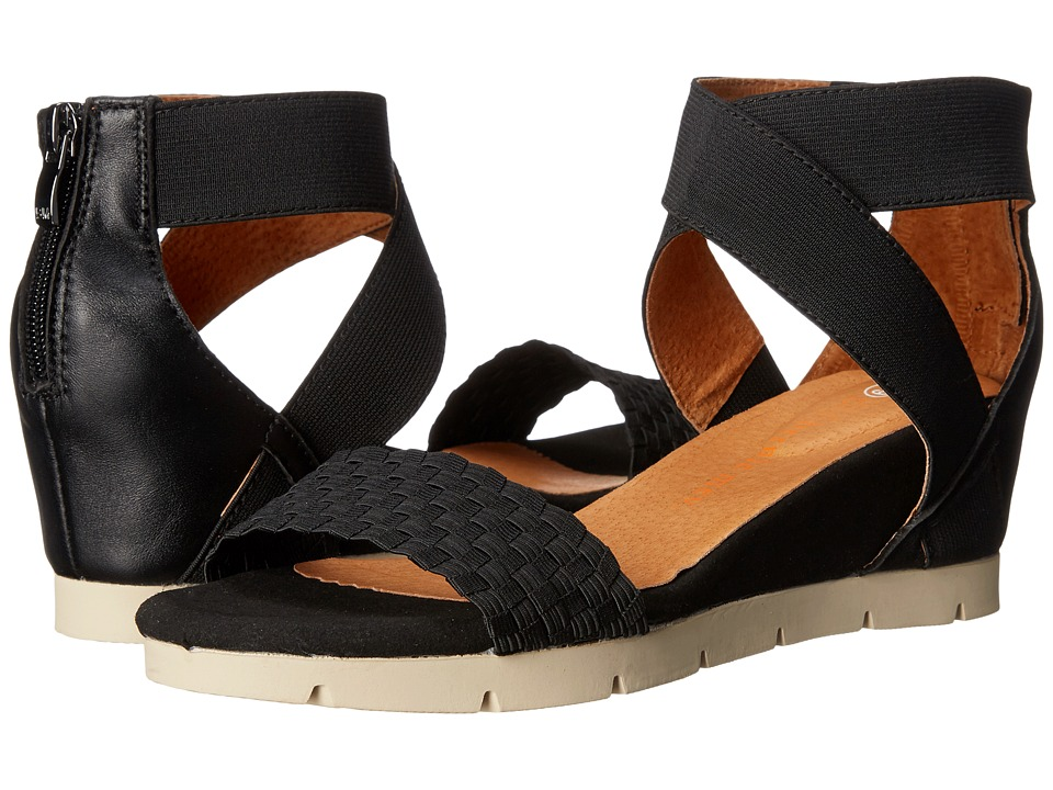 bernie mev. - August (Black) Women's Sandals