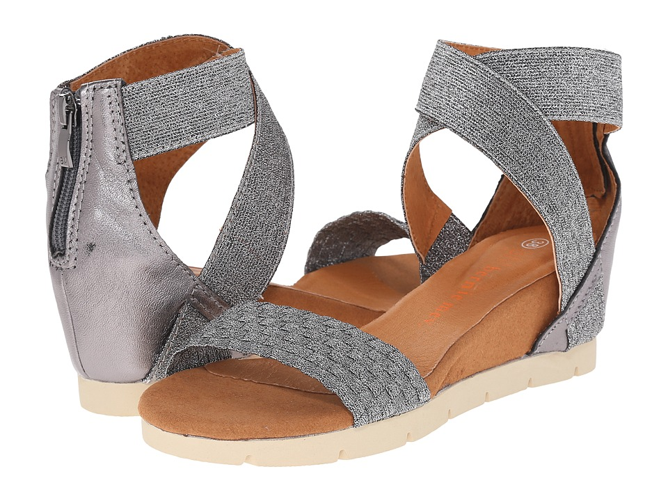 bernie mev. - August (Pewter) Women's Sandals