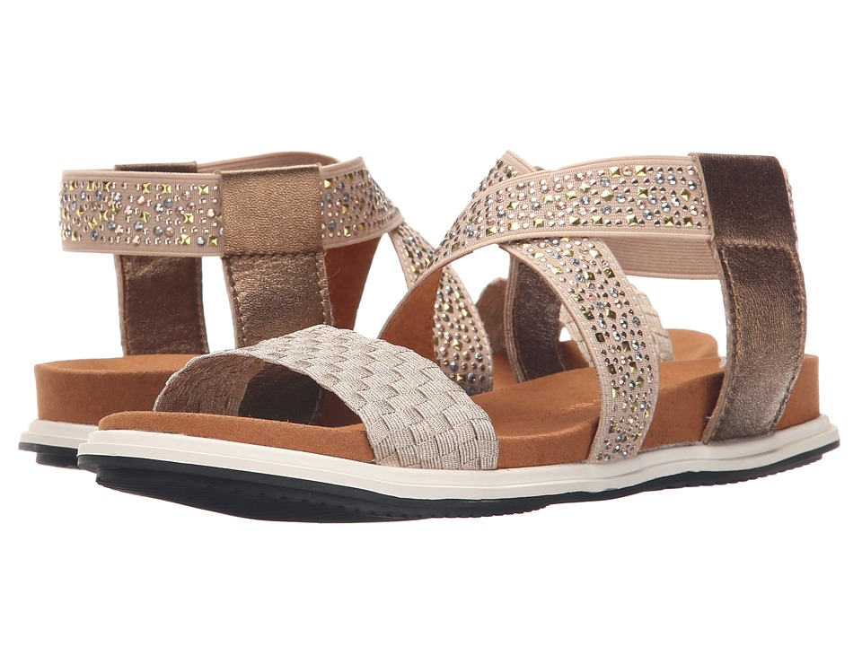 bernie mev. - Blanche (Light Gold Studs) Women's Sandals
