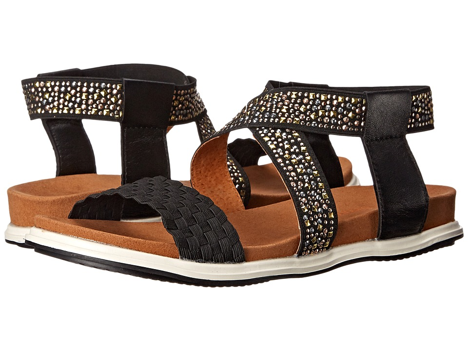 bernie mev. - Blanche (Black Studs) Women's Sandals