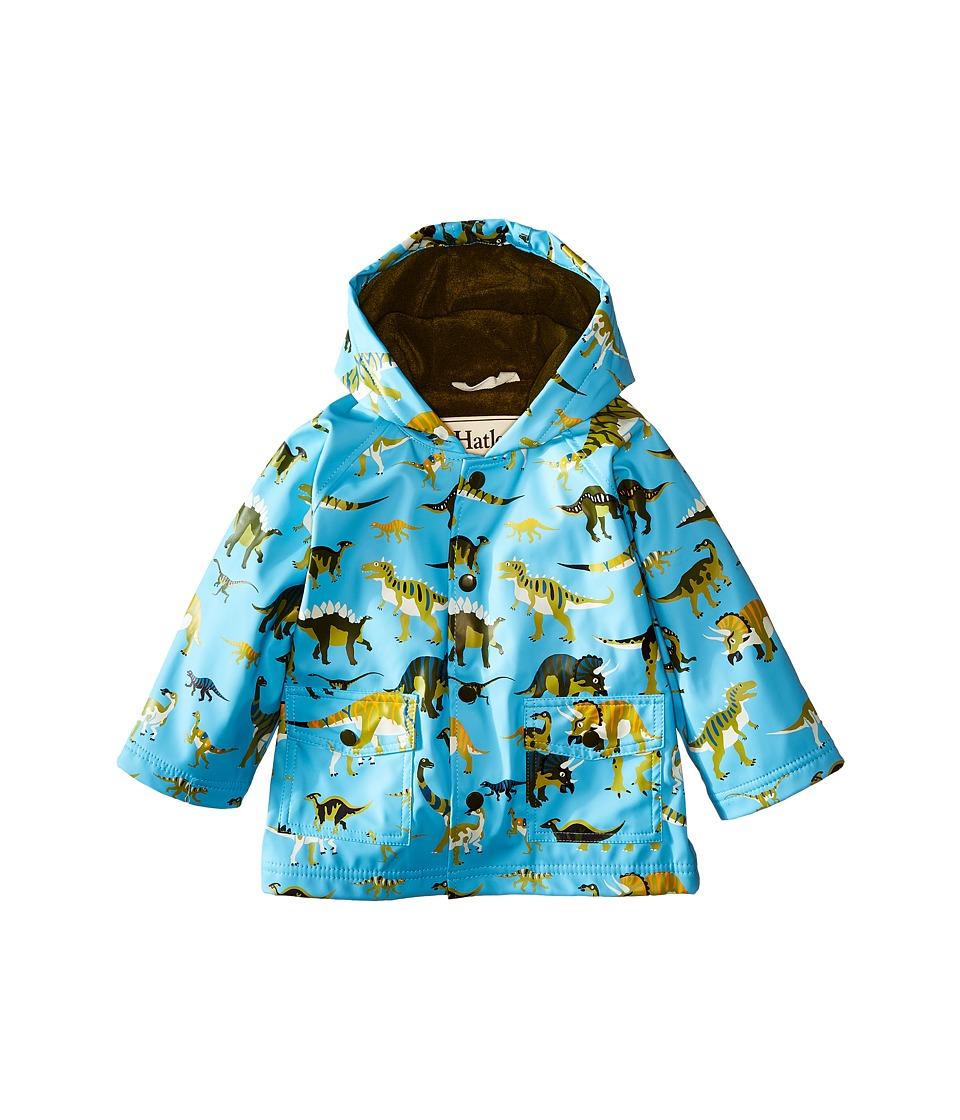 Hatley Kids - Wild Dinos Raincoat (Infant) (Blue) Boy's Coat