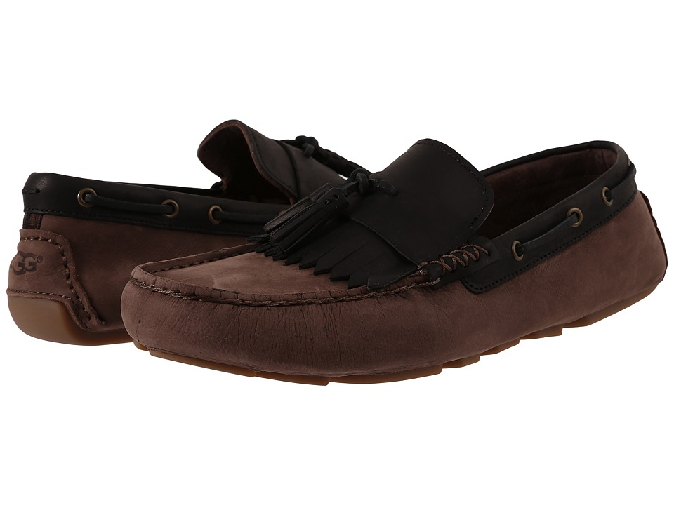 UGG - Stadler (Stout Nubuck) Men's Slip on Shoes