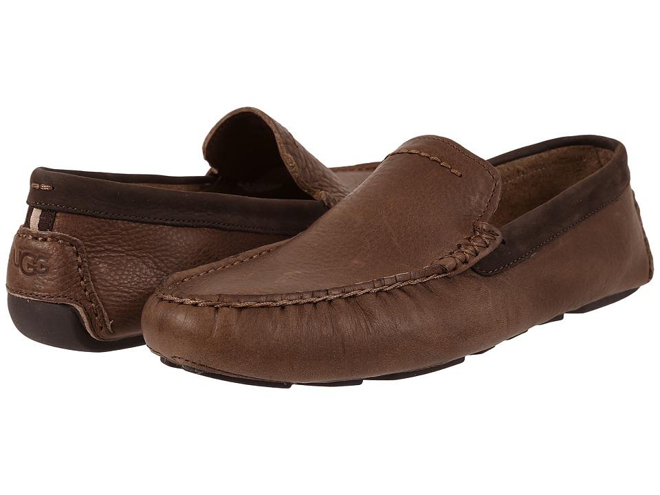 UGG - Henrick (Stout Leather) Men's Slip on Shoes