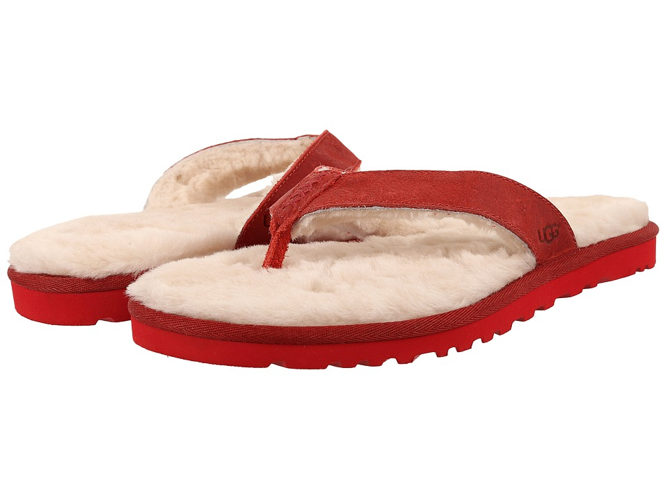 UGG Classic Sandal (Red Leather) Men