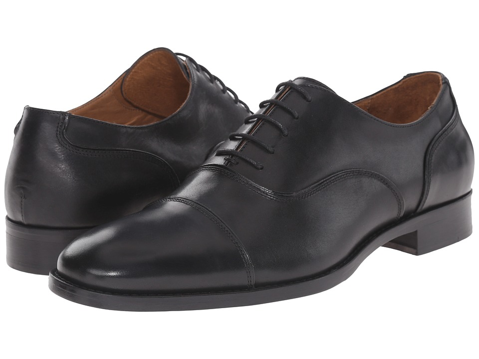 Massimo Matteo 5-Eye Bal Cap Toe 16 (Black) Men