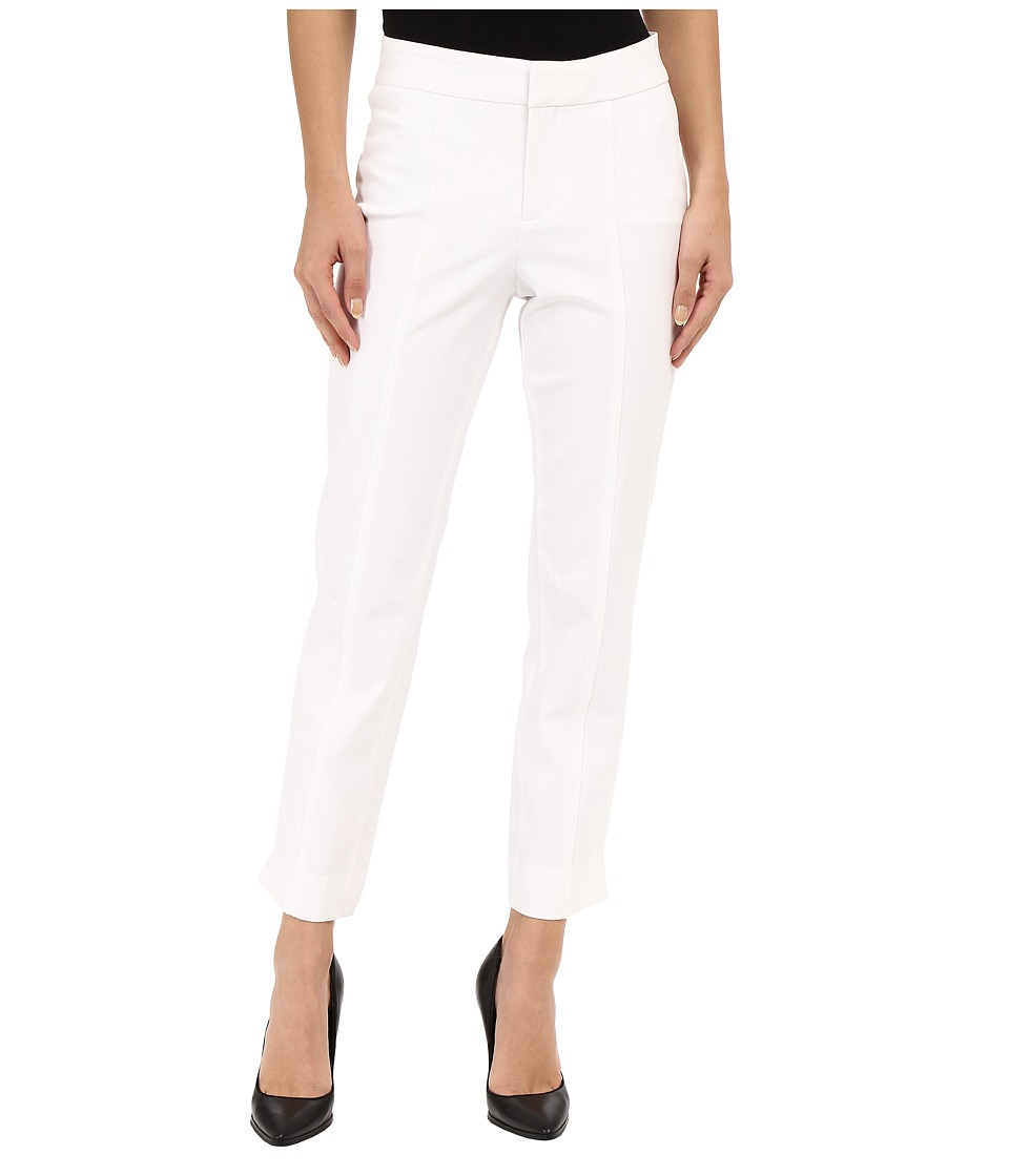 NYDJ - Ankle Pant Bi-Stretch (Optic White) Women's Casual Pants