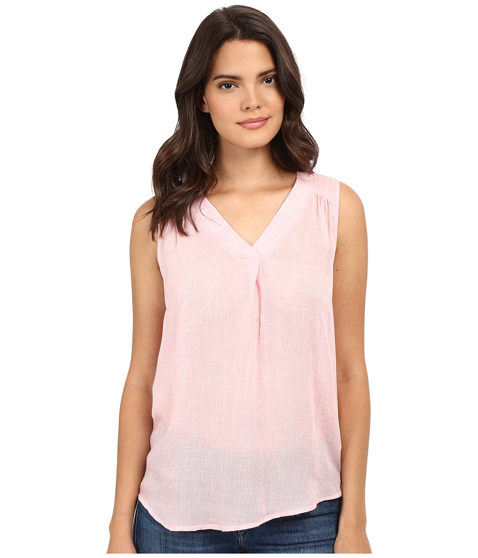 kensie - Gauzy Rayon Blend KS5K4109 (Heather Pink) Women's Blouse
