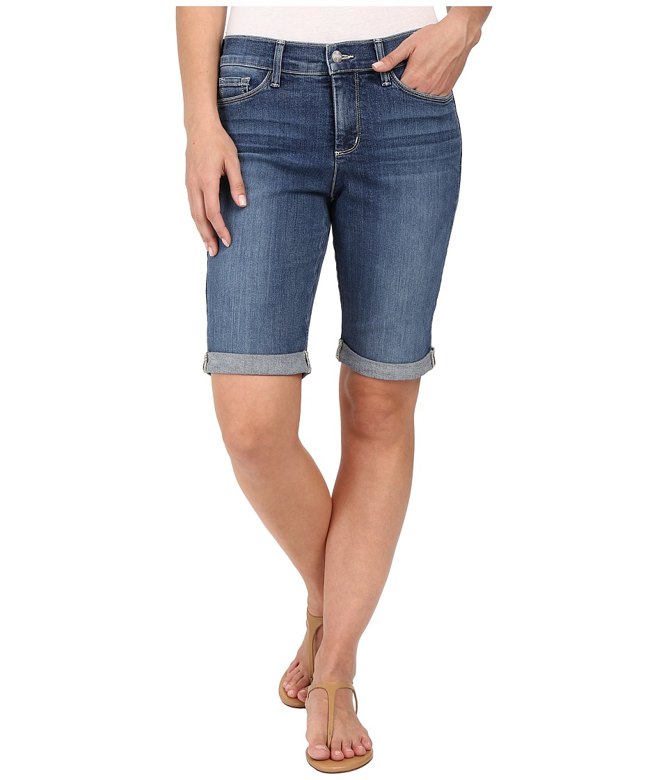 NYDJ - Briella Roll Cuff Shorts in Heyburn Wash (Heyburn Wash) Women's Shorts