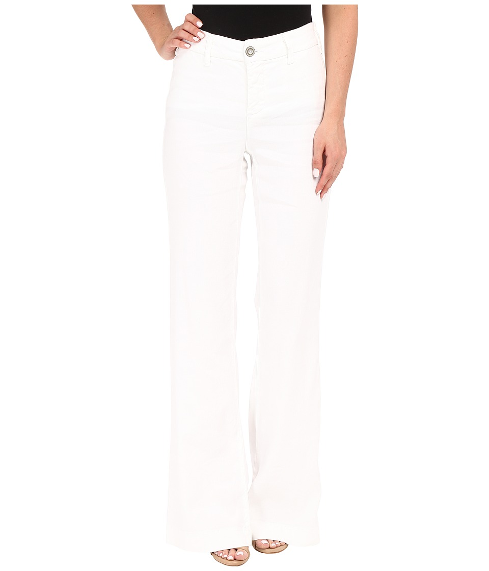 NYDJ - Claire Trousers (Optic White) Women's Casual Pants