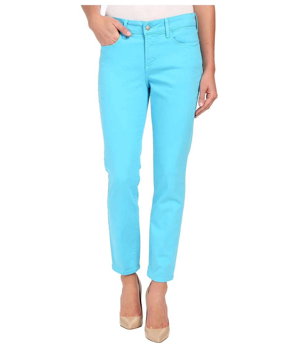 NYDJ - Clarissa Skinny Ankle Fine Line Twill (Blue Wave) Women's Jeans