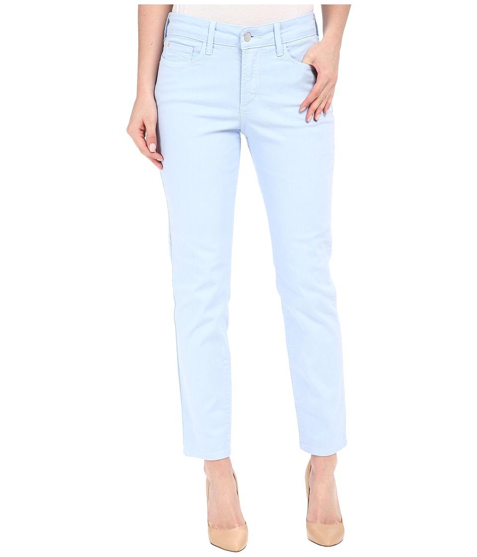 NYDJ - Clarissa Skinny Ankle Fine Line Twill (Bella Blue) Women's Jeans