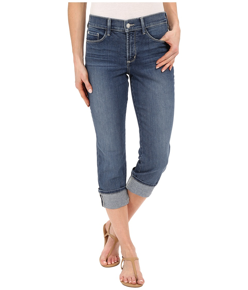NYDJ - Dayla Wide Cuff Capri in Heyburn Wash (Heyburn Wash) Women's Jeans