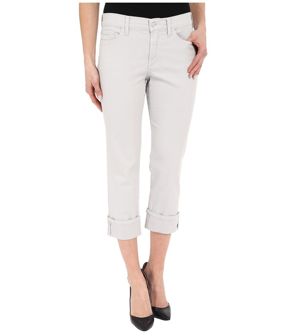 NYDJ - Dayla Wide Cuffed Capri (Pearl Grey) Women's Jeans