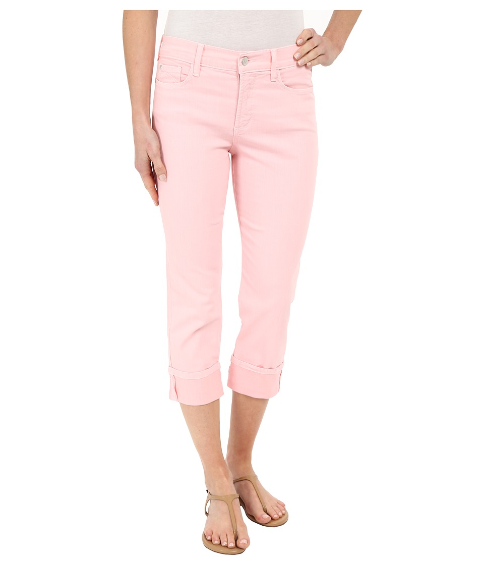 NYDJ - Dayla Wide Cuffed Capri (Pink Panache) Women's Jeans