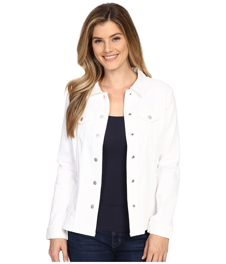 NYDJ - Dylan Jacket (Optic White) Women's Coat
