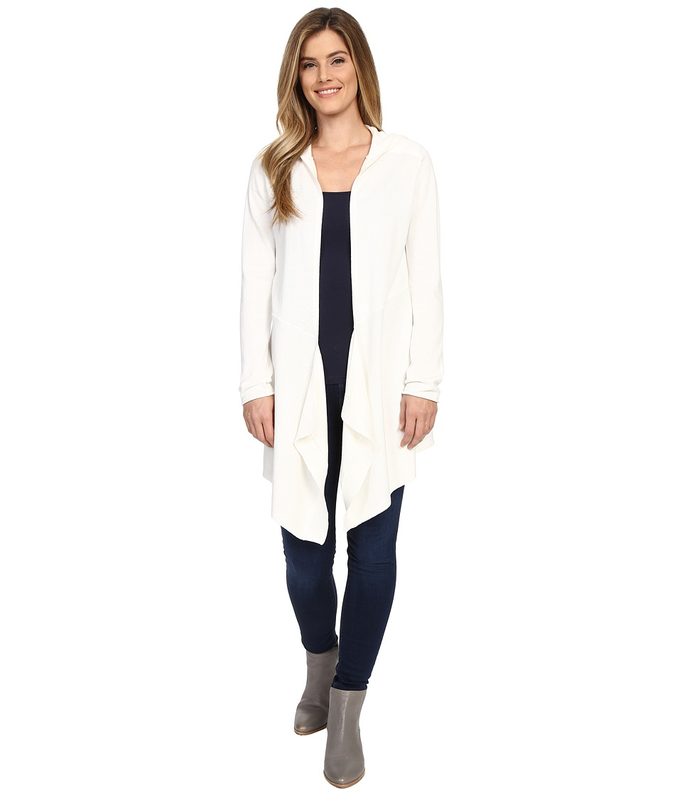NYDJ - Hooded Duster Cardigan (Sugar) Women's Sweater