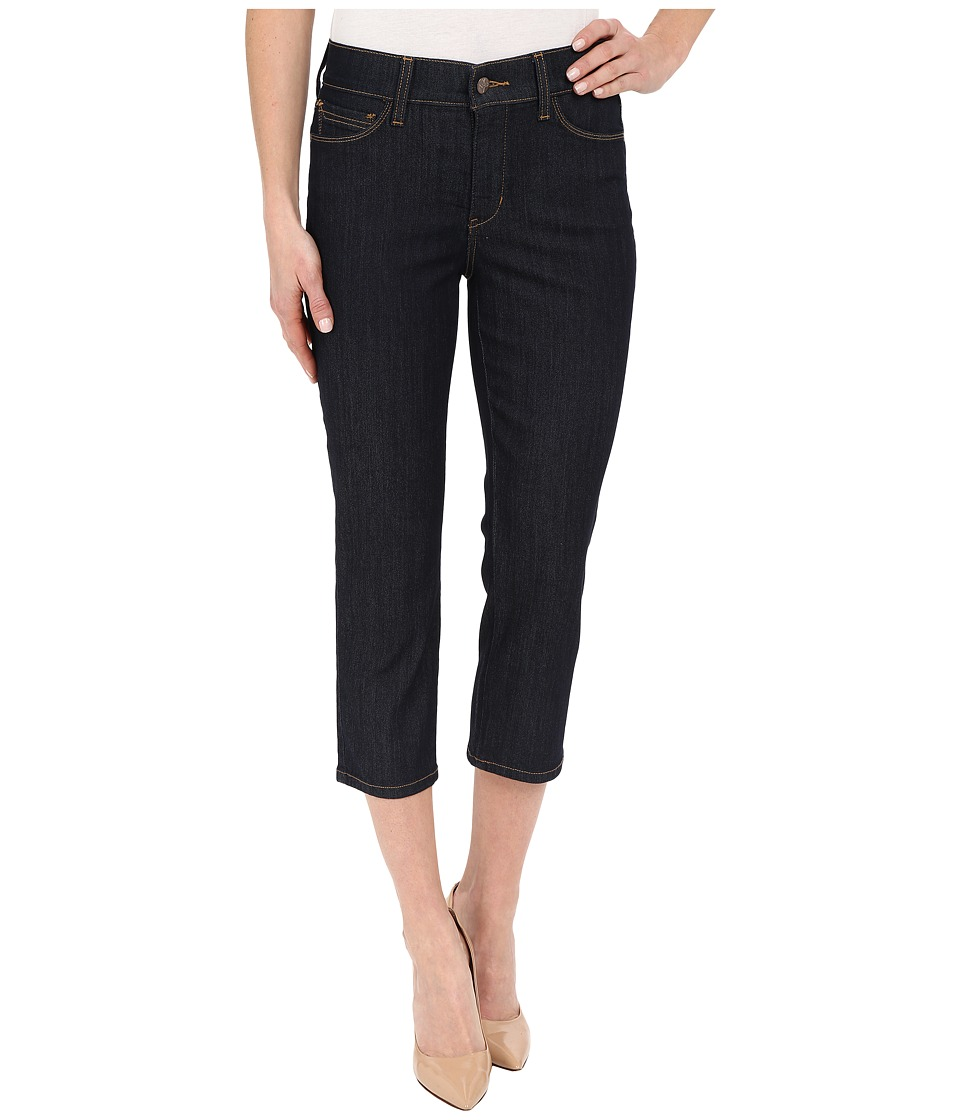 NYDJ - Karen Capris in Dark Enzyme Wash (Dark Enzyme Wash) Women's Jeans