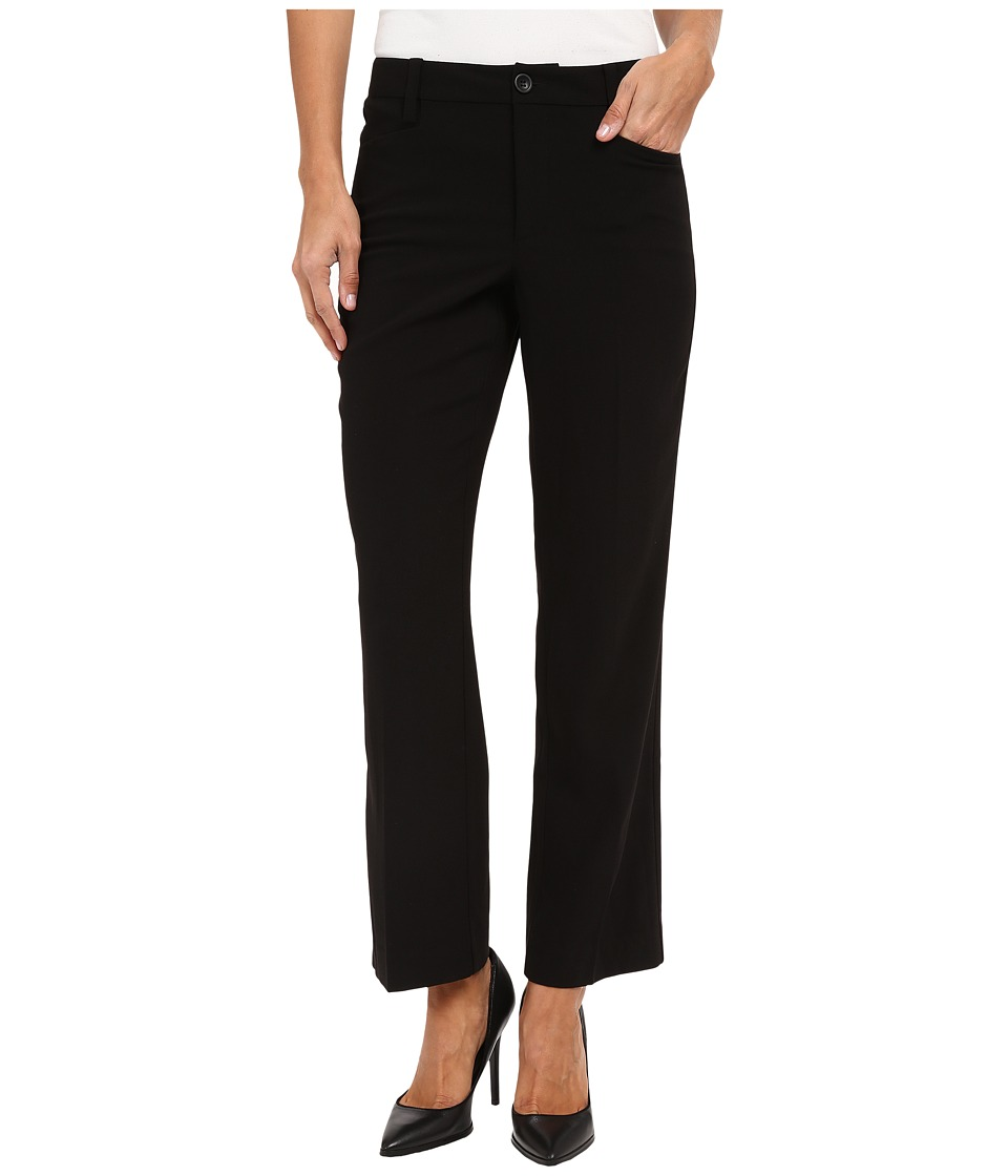 NYDJ - Kylie Mini Flare Capris (Black) Women's Casual Pants