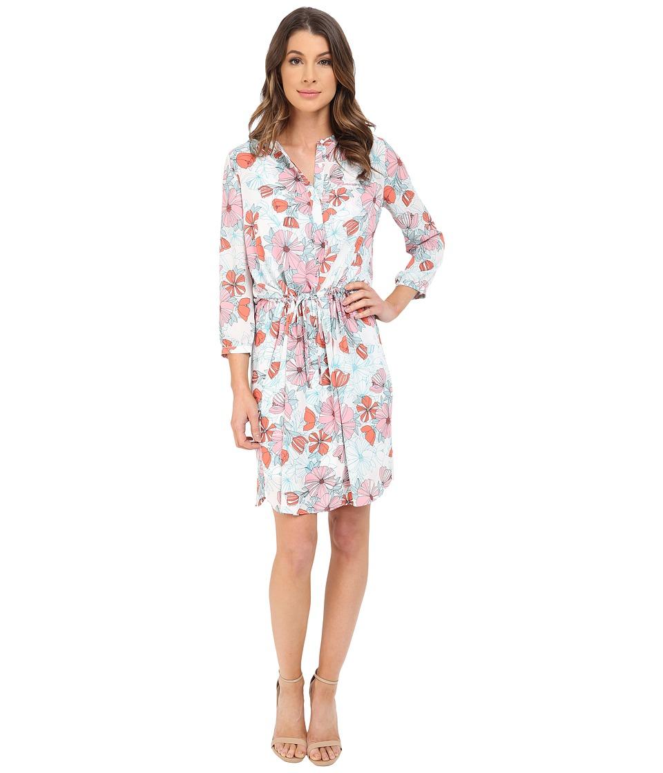NYDJ - Lauren PLeat Back Dress (Bonne Nouvelle Fleur) Women's Dress