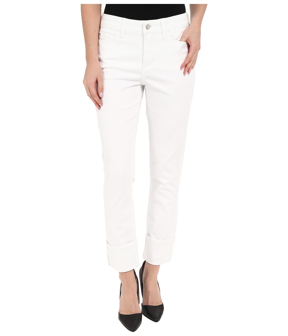 NYDJ - Lorena Boyfriend Jeans in Optic White (Optic White) Women's Jeans plus size,  plus size fashion plus size appare