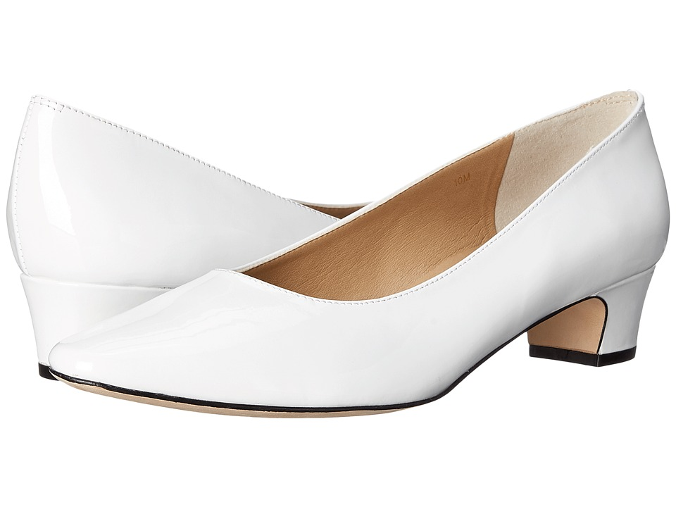 Vaneli - Astyr (White Patent) Women's 1-2 inch heel Shoes