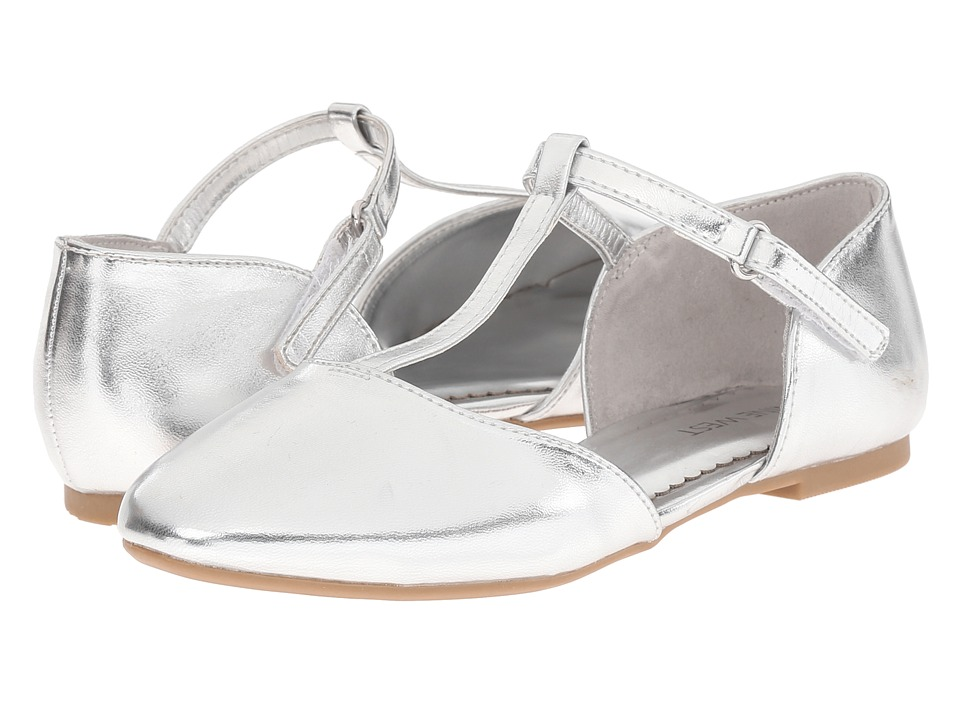 Nine West Kids - Fiorenza (Little Kid/Big Kid) (Silver) Girl