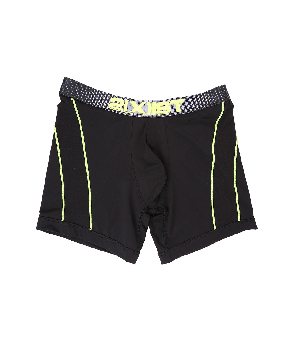 2(X)IST - Speed 2.0 Sport Boxer Brief (Black 2) Men's Underwear