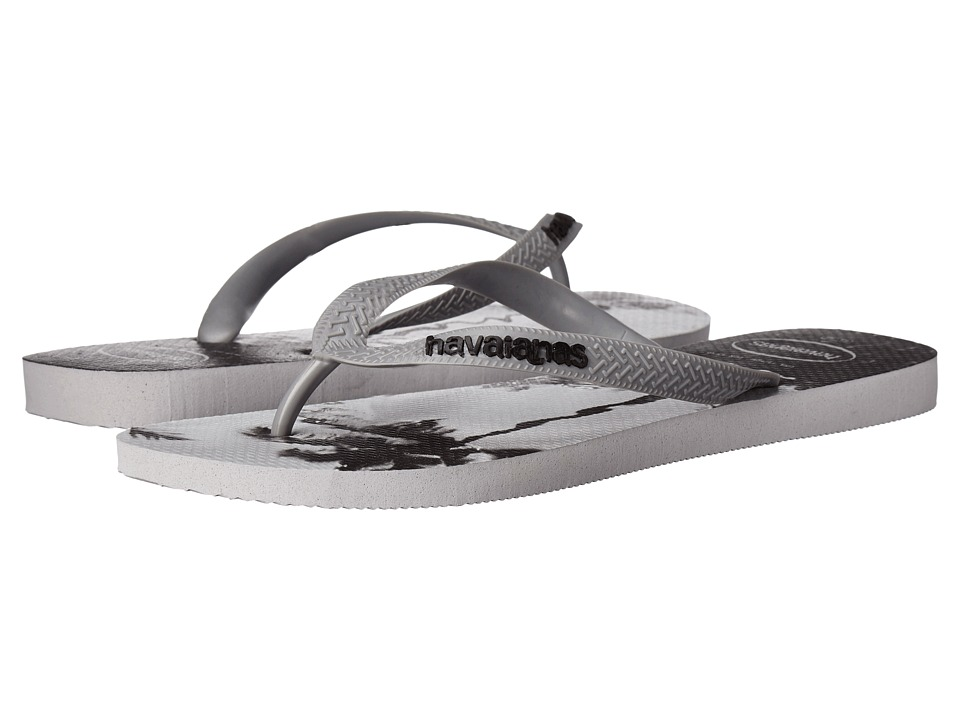 Havaianas - Hype Flip Flops (Ice Grey/Steel Grey) Men's Sandals