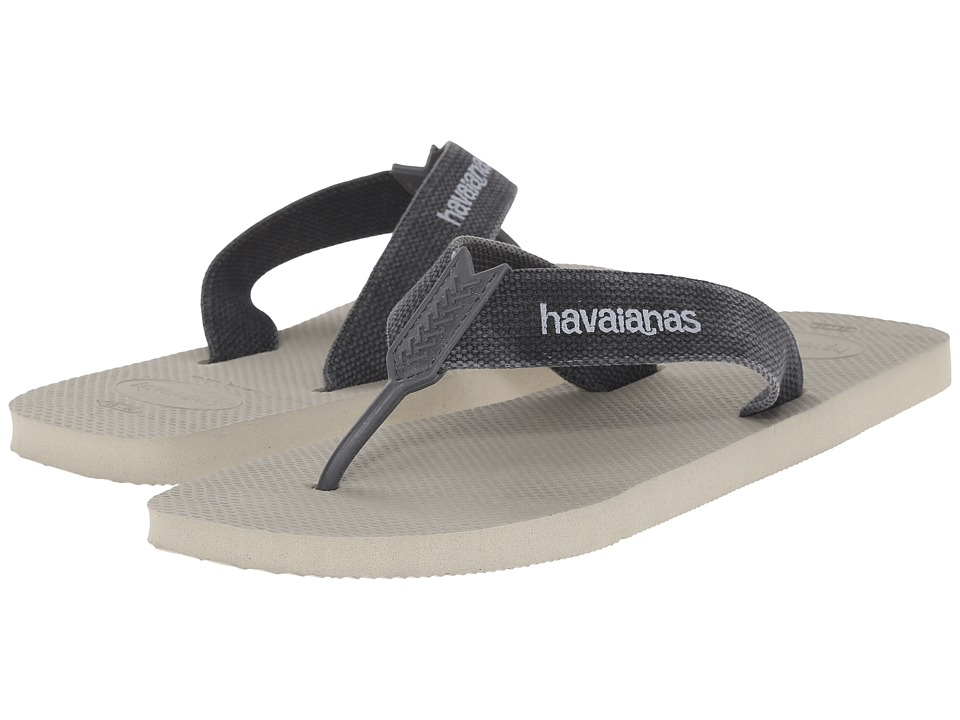Havaianas - Urban Basic (Sand Grey) Men's Slippers