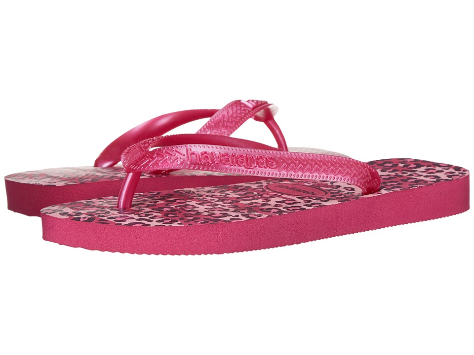 Havaianas - Top Animals Flip Flops (Raspberry Rose) Women's Sandals