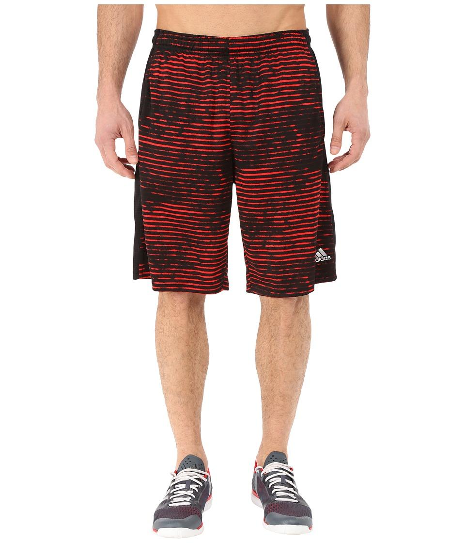 adidas - Aeroknit Shorts (Vivid Red F15) Men's Shorts