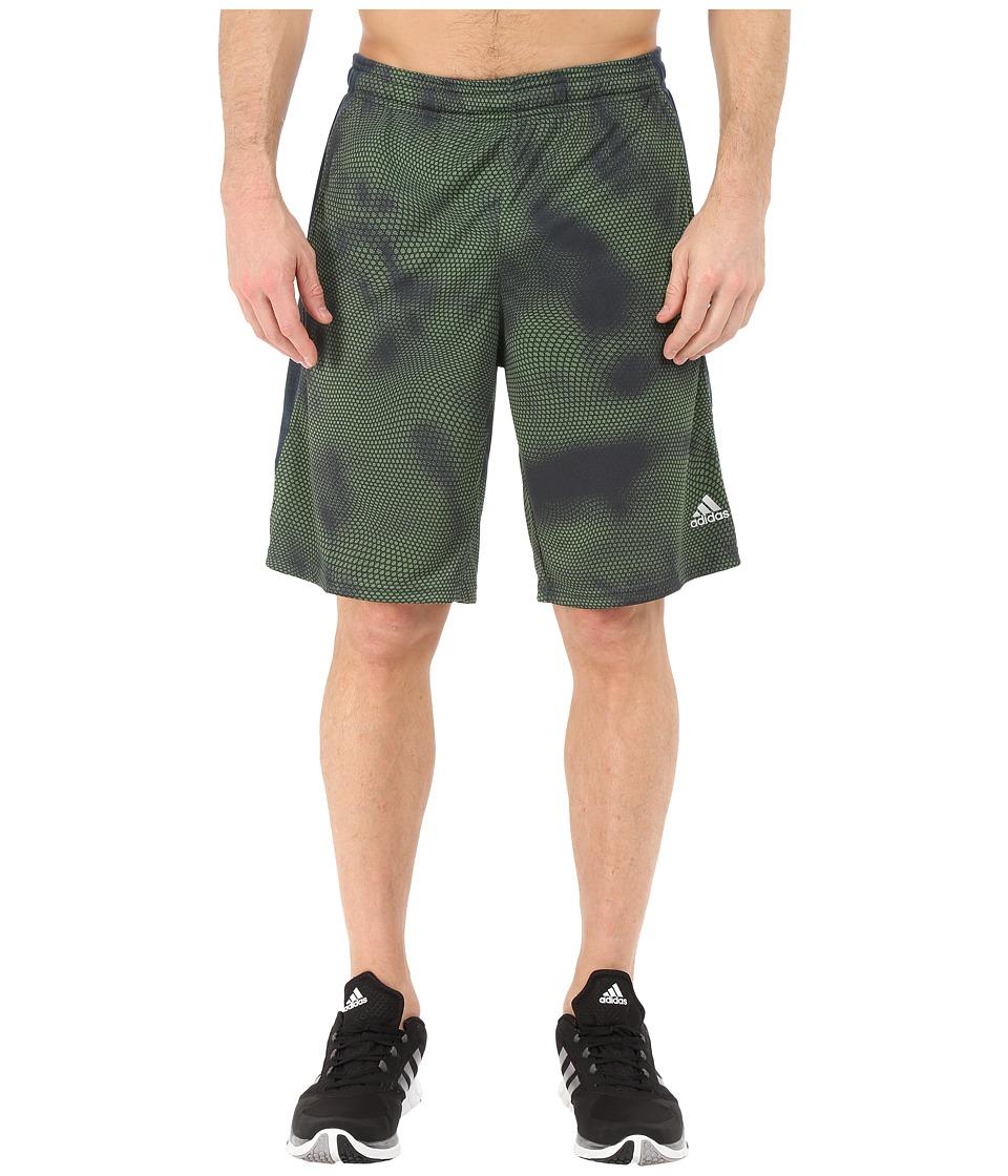 adidas - Aeroknit Shorts (Raw Green F15) Men