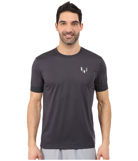 adidas - Messi Melange Training Tee (Night Grey) Men